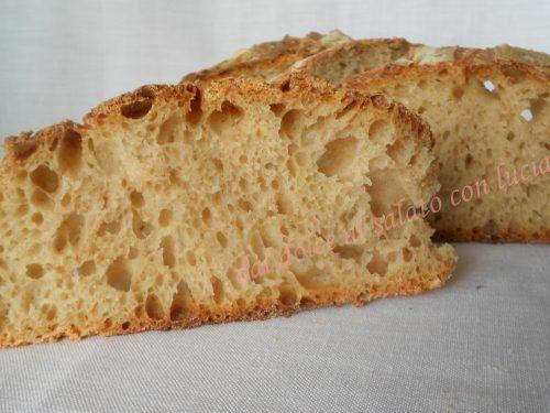 Pane semi-integrale con autolisi e lievito madre