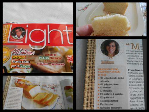 La mia ricetta sulla rivista Vivere light!