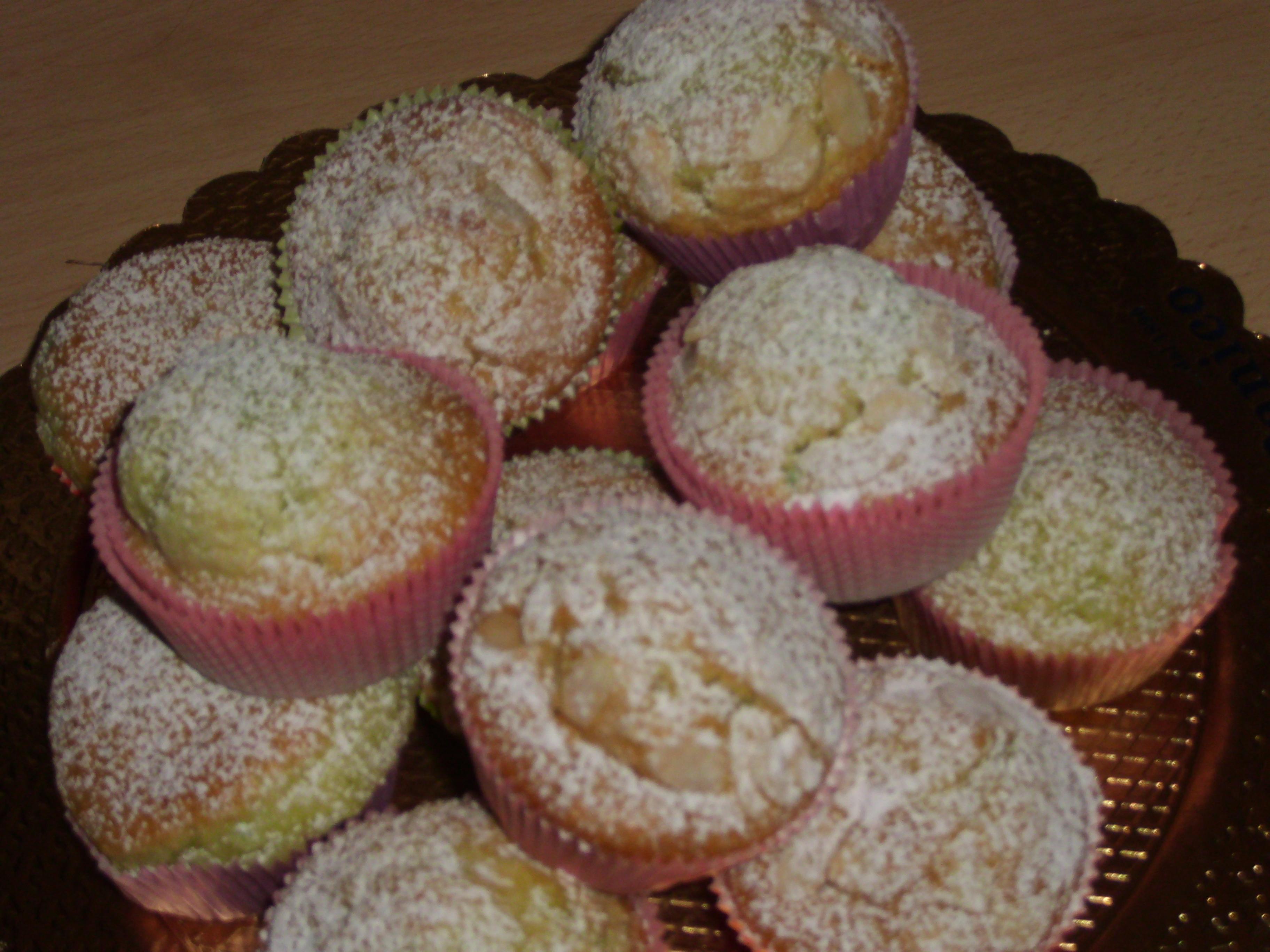 Infornare i muffin in forno statico preriscaldato a 180 gradi per 18 ...