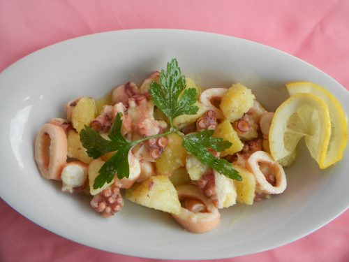 Insalata di polpo e patate, ricetta con foto