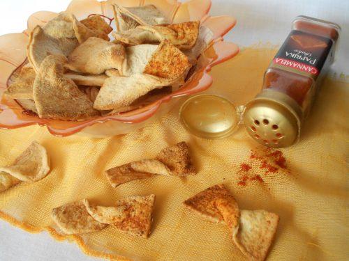 Caramelle grana e paprika con esubero di lievito madre