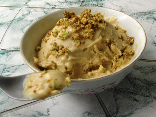 Gelato al pistacchio fatto in casa