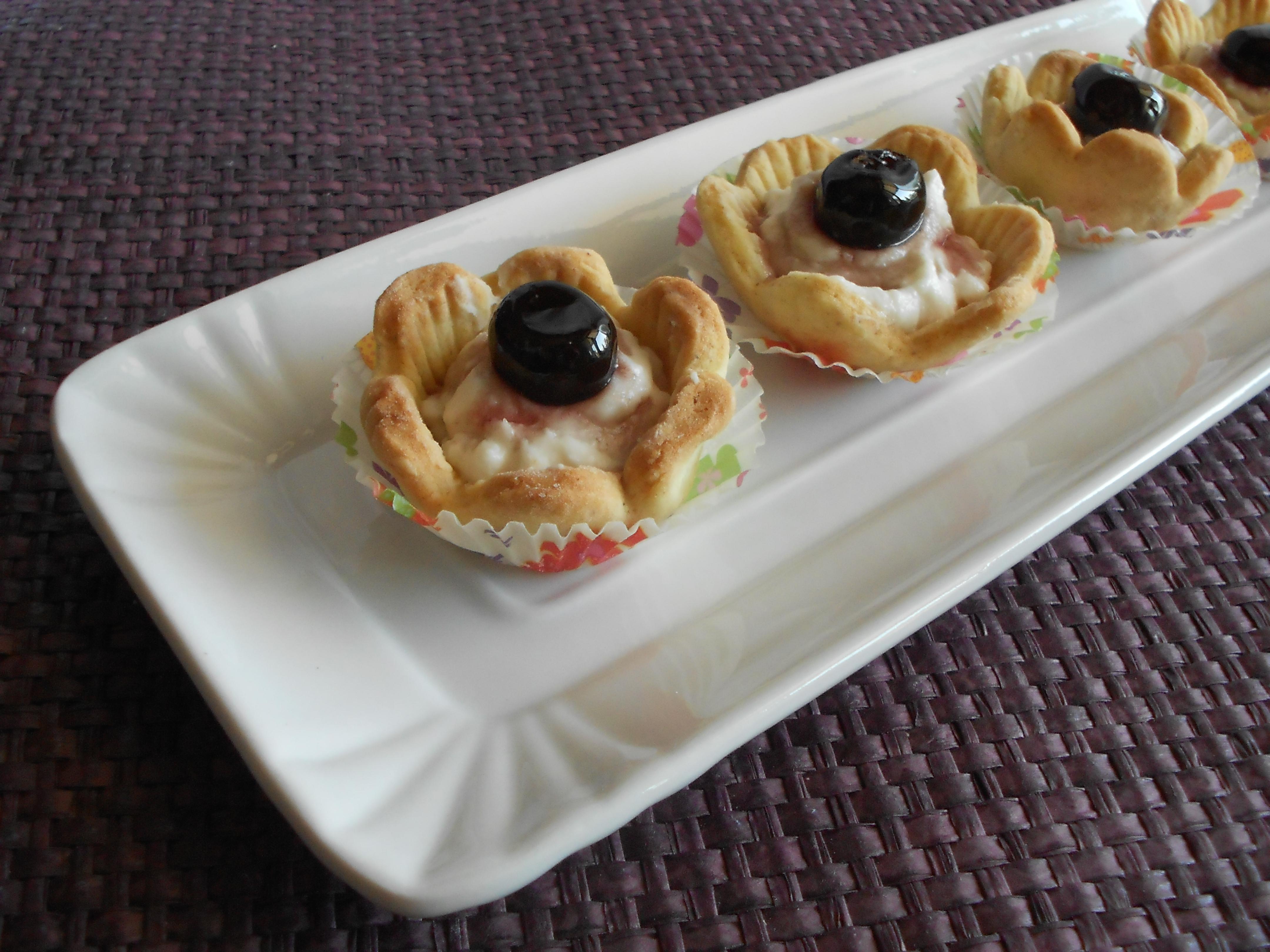Fiorellini Cestini Di Pasta Frolla Con Trucchetto Facile Dal Dolce Al Salato Con Lucia