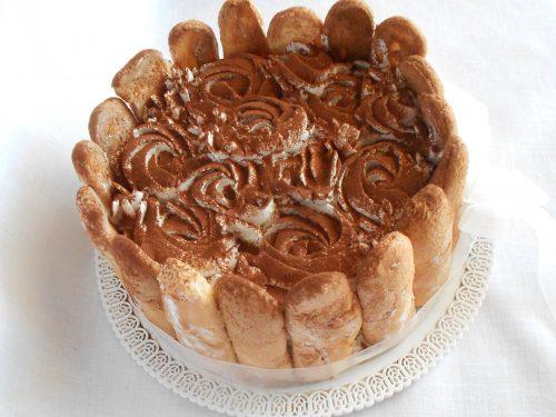 Tiramisu speciale senza mascarpone, con crema pasticcera, meringa e panna e grazie Montersino!