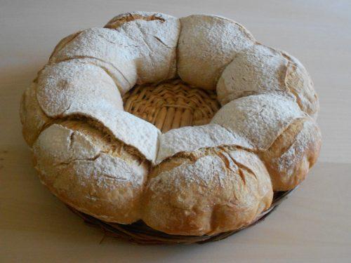 Couronne bordelaise con semola rimacinata, farina 0 e pasta madre