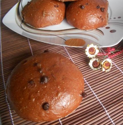 Pan goccioli dark e vegan con lievito madre, al cacao e cioccolato