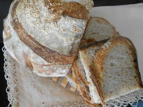 Pane con Buratto e farina 0 Mulino Marino