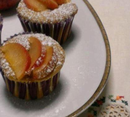 Muffin mele e cannella senza burro