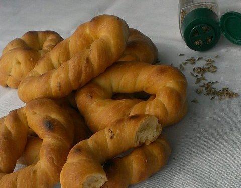 Taralli di Venafro all'olio extravergine d'oliva, con lievito di birra nell'impasto