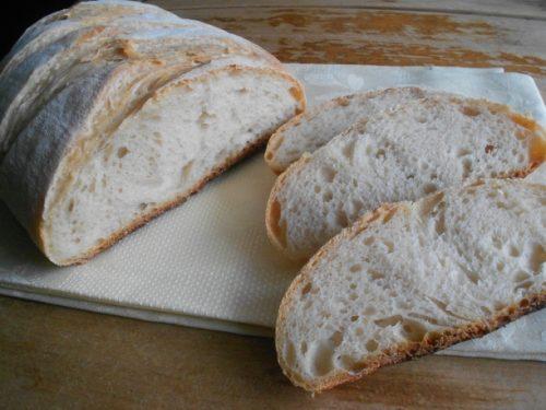 Pane toscano preparato in casa, ricetta con disciplinare (con lievito madre o di birra)