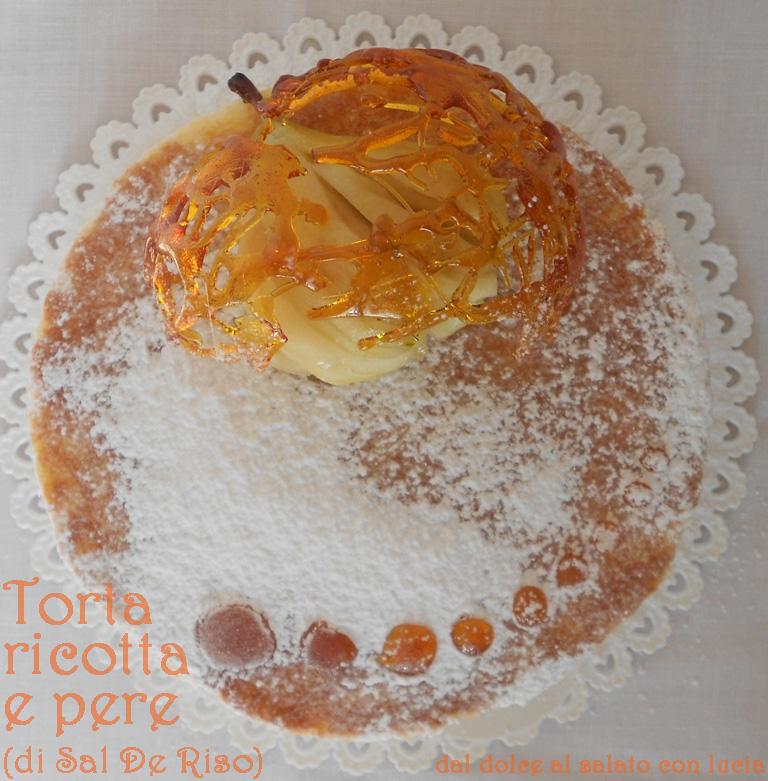 La mia versione della torta ricotta e pere di Sal De Riso