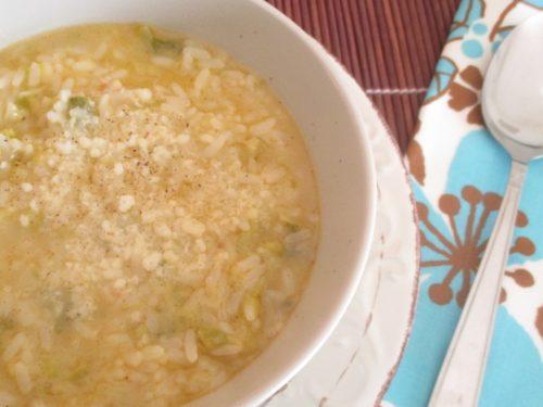 Minestra di riso e verza napoletana