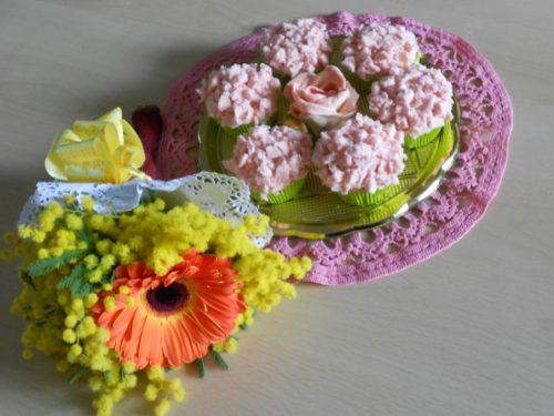 Cupcakes mimosa… rosa!