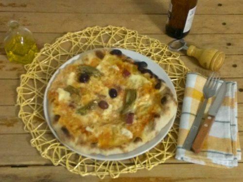 Pizza verace napoletana, impasto diretto con lievito di birra