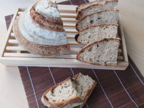 Pane con 75% farina Sette Effe e farina tipo 0, con pasta madre