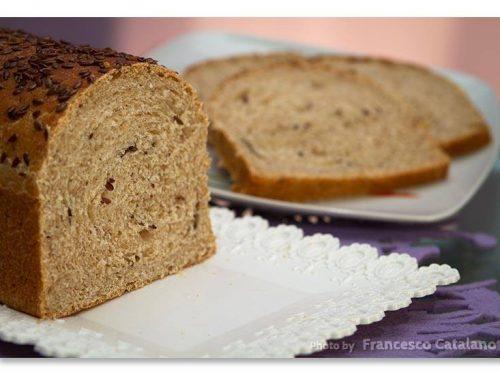 Soffice pan brioche ai semi di lino, ricetta con tutorial