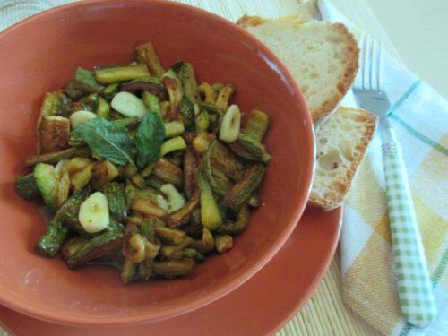 Zucchine alla scapece, ricetta napoletana