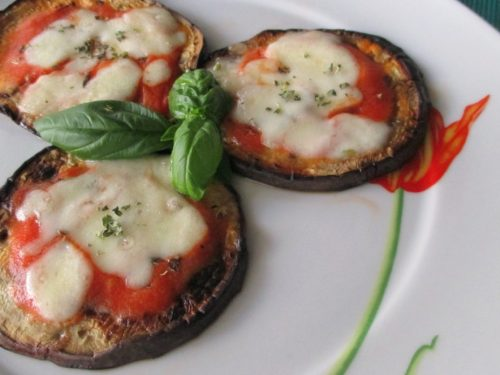 Pizzette di melanzane light