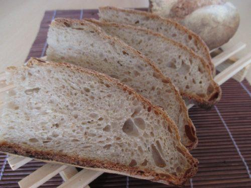 Pane con 100% farina Pan di Sempre e lievito madre
