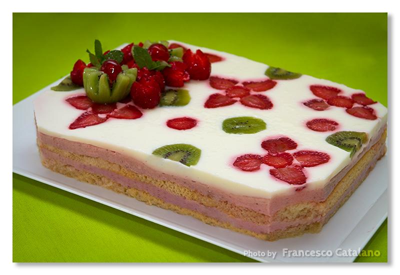 Torta Giardino Di Fragole Di Luca Montersino Ricetta Con Foto