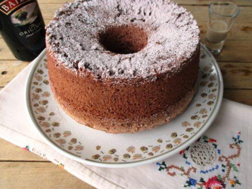 Angel cake al cacao e Baileys