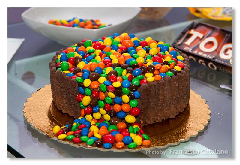 Torta Cascata Di M M 39 S Con Tutorial Fotografico Dal