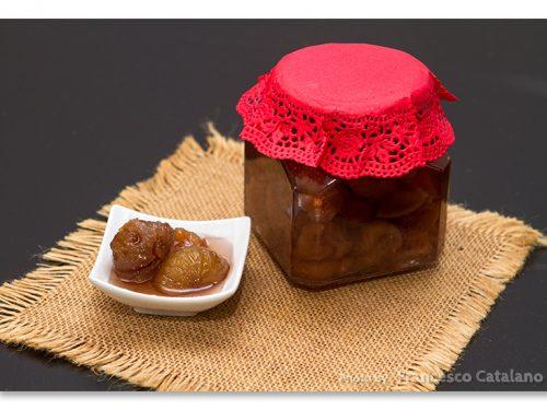 Castagne candite fatte in casa, tipo marrons glacès