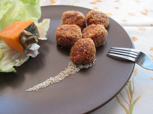 Polpette di quinoa e zucca, ricetta senza glutine con foto