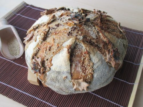 Il pane incamiciato delle feste con lievito madre