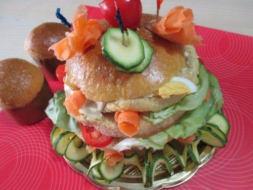 Panettone gastronomico con lievito madre, ricetta con foto