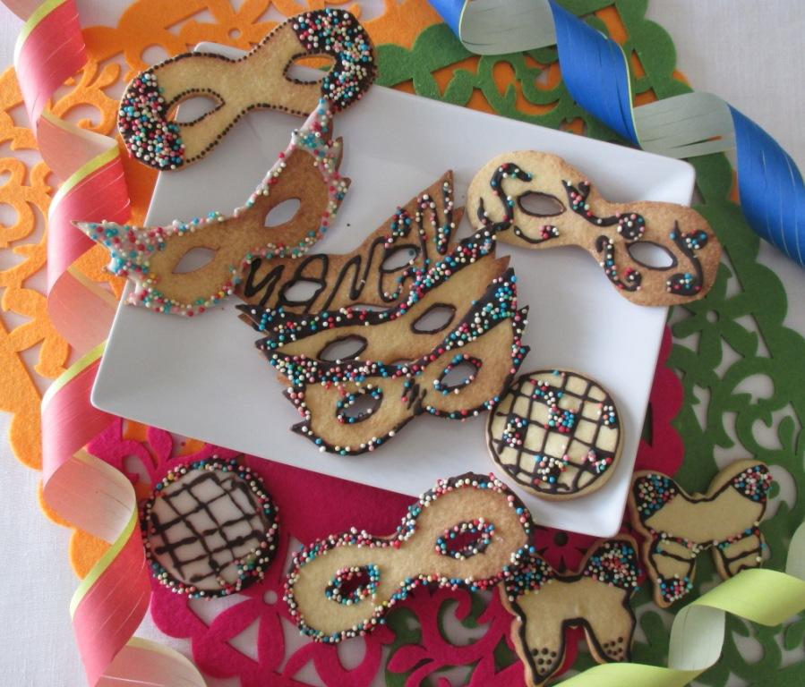 Biscotti maschere di Carnevale 355cba1489d3