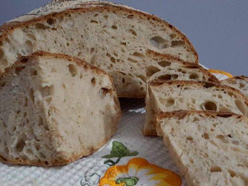 Pane con metodo poolish di Giorilli, con Uniqua gialla