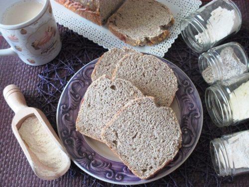 Pan bauletto ai 6 cereali, ricetta lievitata