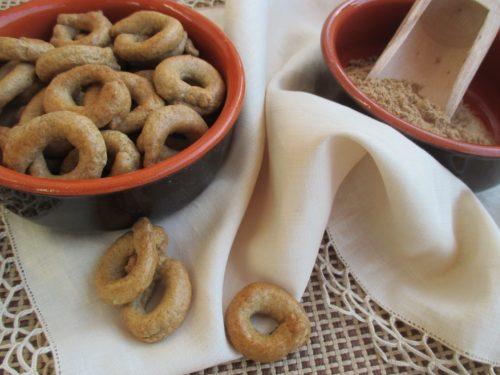 Tarallini friabili al grano arso