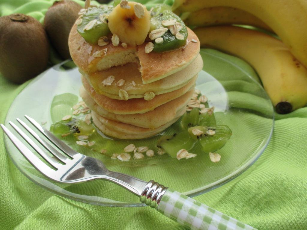 Bien connu Pancakes light avena e albumi | Dal dolce al salato con Lucia UD42