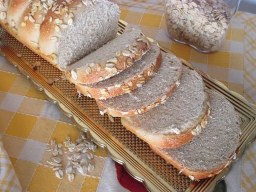 Pan bauletto all'avena, ricetta lievitata