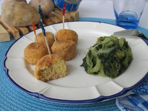 Polpette di tonno e patate light