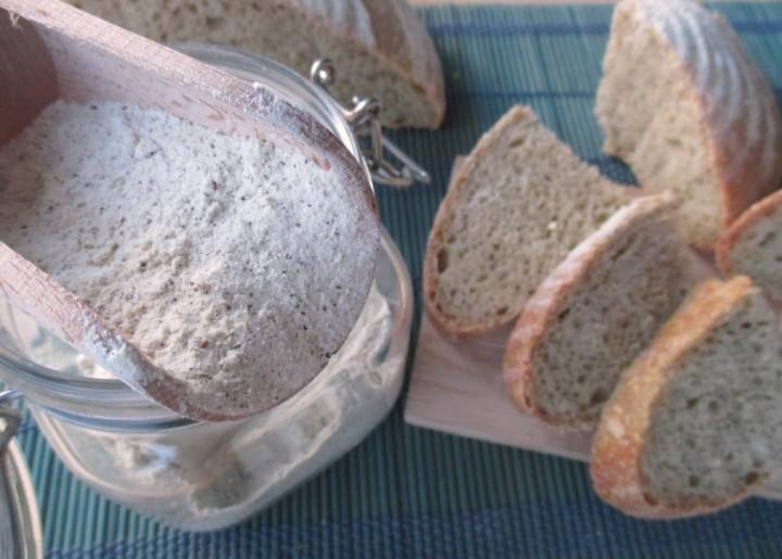 Pane con farina di canapa