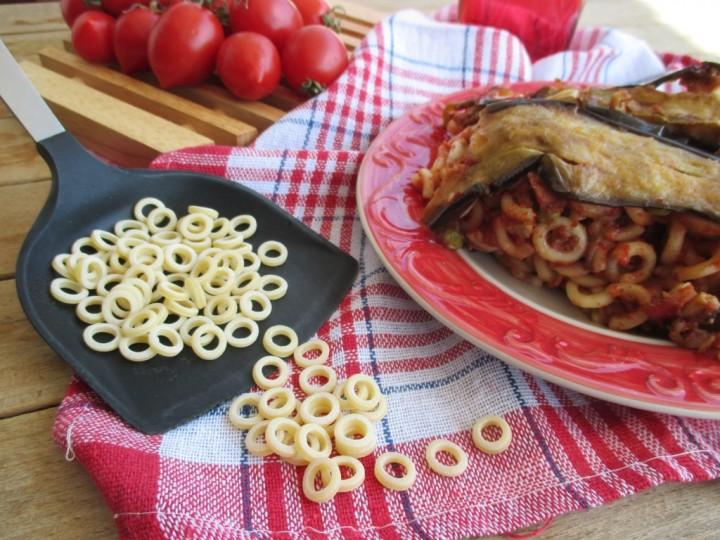 Timballo di anelletti alla siciliana