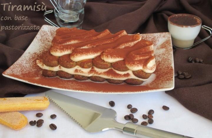 Tiramisu pastorizzato con patè à bombe