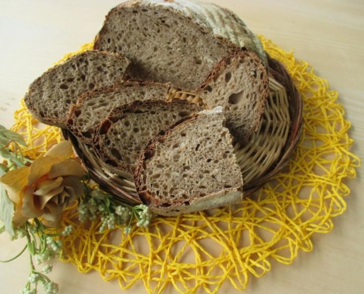 Pane ai sette cereali e lievito madre