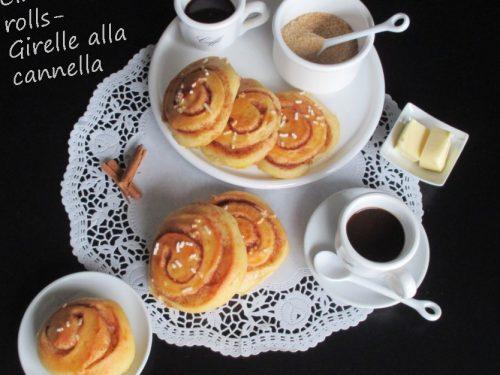Girelle alla cannella – Cinnamon rolls con lievito madre