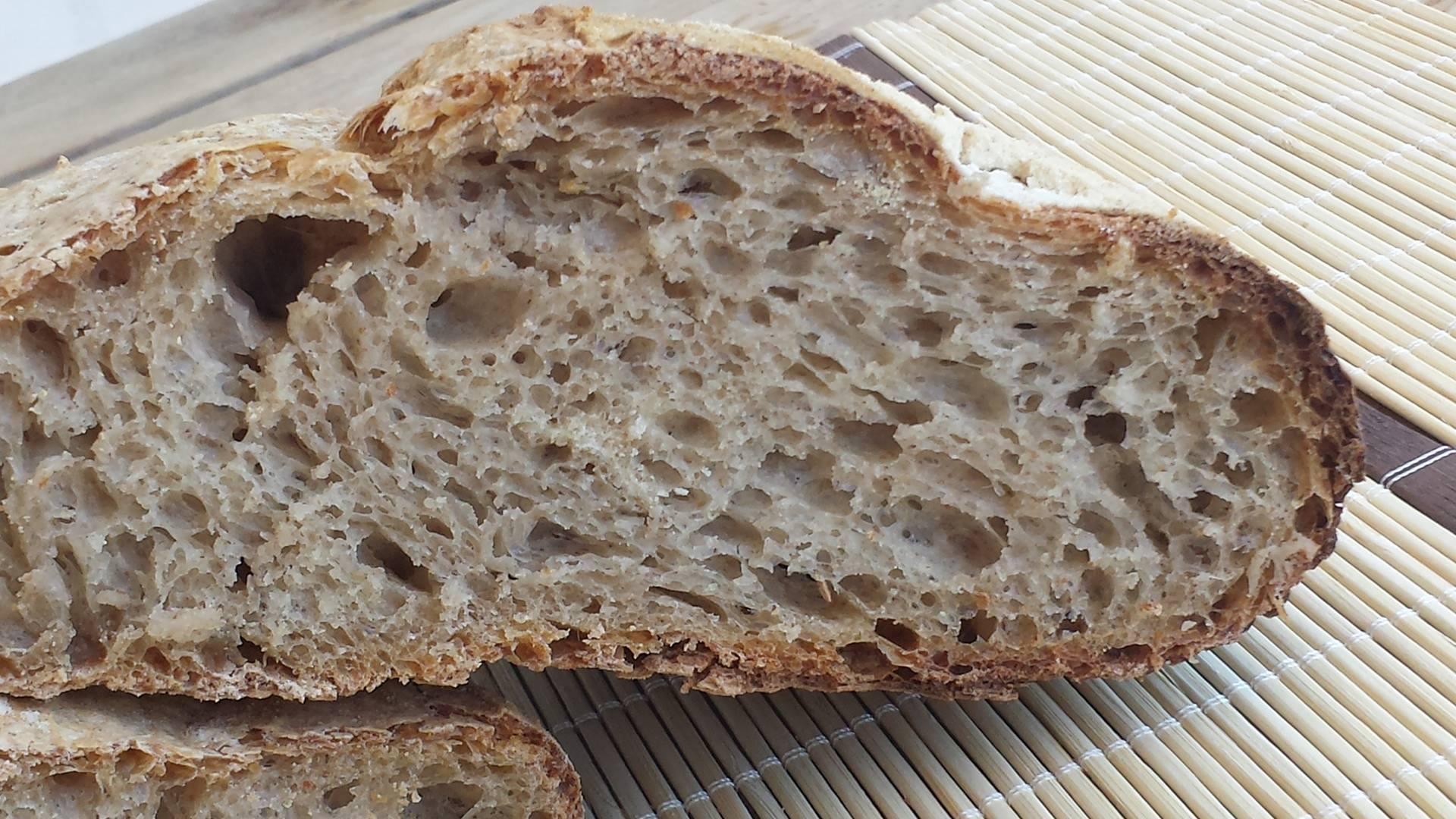Credenza Per Pane : Pane con farina di tumminia e pasta madre dal dolce al salato