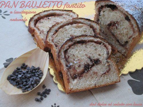 Pan bauletto morbidissimo farcito, con lievito naturale
