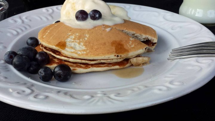 Pancake con lievito naturale liquido