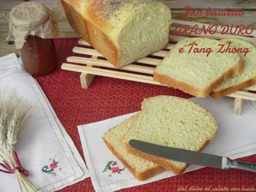 Pan bauletto con water roux e grano duro (Tritordeum)
