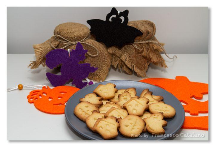Biscottini di Halloween friabilissimi