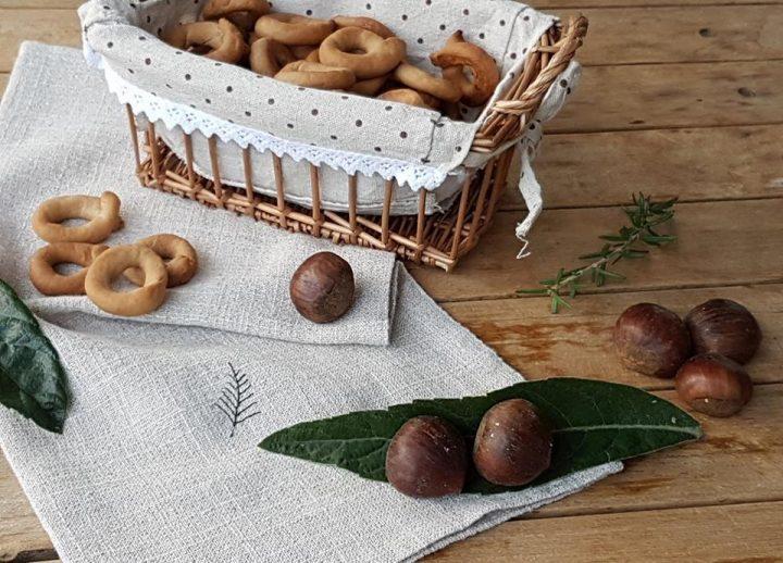 tarallini con farina di castagne