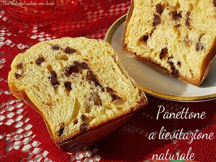 Panettone Morandin marron glacèes e cioccolato