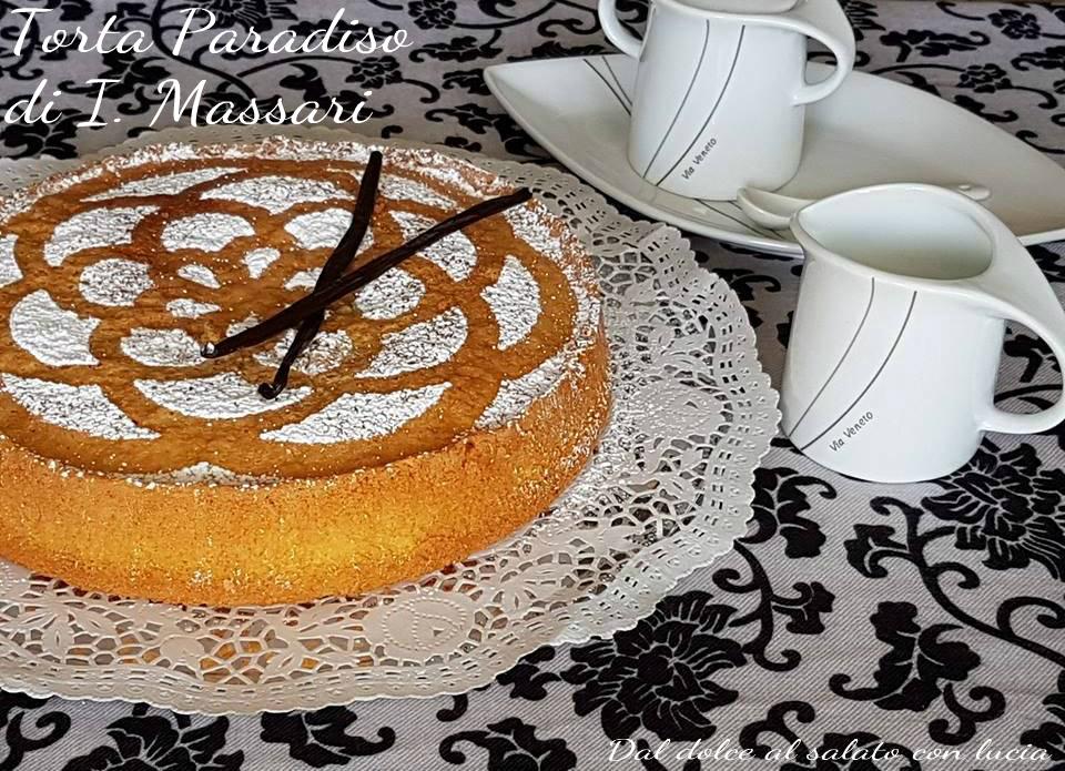 Dolci Da Credenza Iginio Massari : Torta paradiso di iginio massari dal dolce al salato con lucia